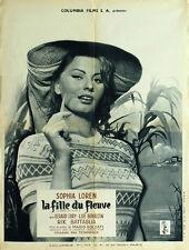 La Donna del fiume Sophia Loren movie poster print