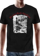 "Battle Merchant T-Shirt ""Heathen Death Squadrons"" Kurzarm Rundhals Schwarz S-XXL"