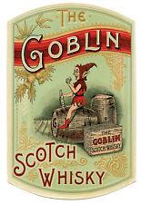 I Goblin-SCOTCH WHISKY bere-Pubblicità A3 Stampa Artistica Poster