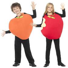 Peach & Apple Kids Fancy Dress Fruit Roald Dahl World Book Day Childs Costumes