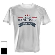 Hangover drinking team giovane Ellen addio Bachelor Party Uomo Organic SHIRT