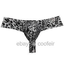 Men Brazilian Bikini Thong Pants Underwear Male Bulge Pouch Skimpy Boxer Tangas