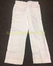 US Military Men's Hospital Dress Trousers Pants White Size 40x34 or 42x30 NIB