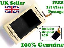 ORIGINALE SONY ERICSSON X8 XPERIA ANTERIORE + LCD + DIGITIZER TOUCH SCREEN VETRO