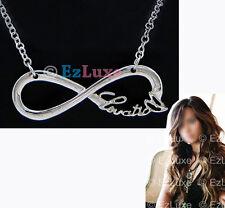 LENGTH OPTION Lovatic Heart Infinity Necklace pendant charm chain Fan Club girl