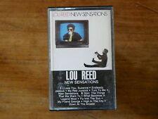 LOU REED New sensations 84998 k7