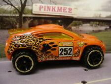 2010 Hot Wheels Jungle Rally TOYOTA RSC ∞ ORANGE∞Tiger  ^..^    loose