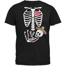 Cinco de Mayo Baby Skeleton Black Adult T-Shirt