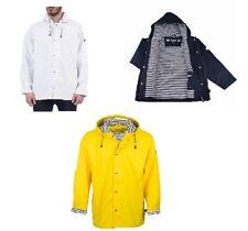 Regenjacke Raincoat Friesennerz Outdoor XS - 4XL Damen Herren, Gelb, Blau, Weiß
