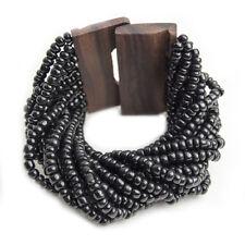 Pulsera Beads Madera Bisutería pulseras de Mujer con modelos de piedras en color