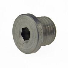 Verschlußschrauben DIN 908 5.8 Stahl blank mit Bund Innen6kant zyl. Feingewinde