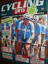 Cycling Pro.PAOLO BETTINI,MARK CAVENDISH,HUSHOVD,M