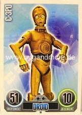 Star Wars Force Attax  C-3PO #014
