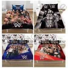 WWE SUPERSTARS SINGLE AND DOUBLE DUVET COVER SETS KIDS BEDROOM BEDDING