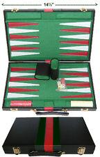 15 Pollici BACKGAMMON Board. NUOVO IN SCATOLA. gratis P&P UK