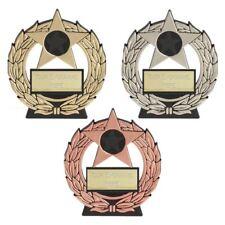 Budget Trophy Award Mega Star Plaque Award - Cheap Trophies - Free Engraving