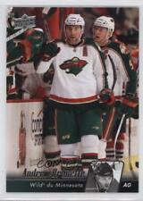 2010-11 Upper Deck French #105 Andrew Brunette Minnesota Wild Hockey Card
