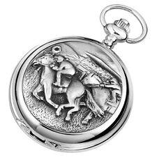 Horse Racing Pocket Watch Woodford Hunter Chrome Mechanical or Quartz 1915