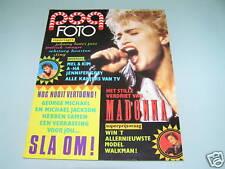 Madonna - On 1980s - Rare Pinup Magazine Cover