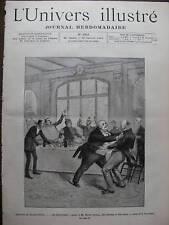 UNIVERS ILLUSTRE 1890 N 1818 AU THEATRE DU PALAIS ROYAL