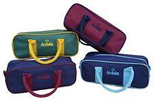 ACCLAIM Amble Three Bowl Bag Handles Zip Top Crown Green Level Green Short Mat