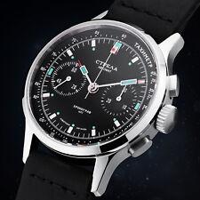 STRELA Herrenuhr Chronograph Automatik Uhr mechanisch COSMOS Weltraumuhr ST1940