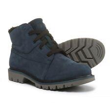 New Women`s Caterpillar Fret Fur Lace Up Boots Waterproof Nubuck P310057