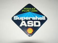 autocollant super shell ASD
