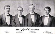 Leicester. Apollo Quartet. H. Bray, E. Inchley, E Langton & W.T. Burbidge.