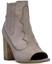 New Carlos By Carlos Santana Corby Peep Toe Boots  women's shoes