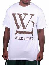 SMW Sex Money Weed Lover Mens White Marijuana Smoking Pot T-Shirt NWT