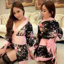 Costume Completino Rosa Kimono Giapponese Cosplay Vestaglia Japanese Pink Calze