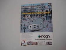 advertising Pubblicità 1982 AUTOCARAVAN ELNAGH KING