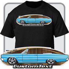 Custom Art T-Shirt 65 1965 dodge Polara Convertible rag top V8