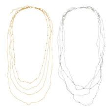Premium Long Multi-Row Layer Fashion Necklace