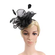 Lady Flower fascinator chapeau 1920 gatsby bridal headband cocktail party