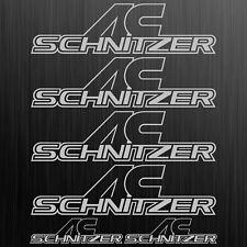 AC SCHNITZER Logo aufkleber sticker decal tuning Auto Car 6 Stücke Pieces