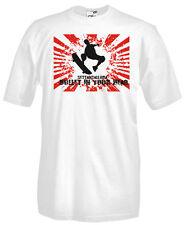 T-Shirt girocollo manica corta Sport Q04 Skateboard Bullet in Your Head Skaters