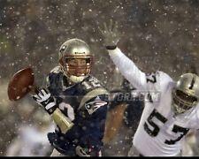 Tom Brady New England Patriots snow tuck rule  8x10 11x14 16x20 photo  013