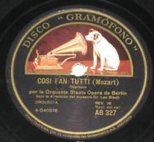 78rpm/Grammofono AB 327/LEO BLECH/COSI FAN TUTTE/LE NOZ