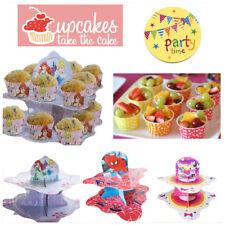 2 Mensole supporto per torta Disney Kids festa di compleanno decorazione tavola plateau BOY GIRL