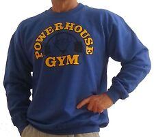 "PH801 Powerhouse Gym Sweatshirt - ""bent-bar"" Weightlifting logo"