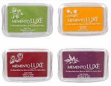 Tsukineko Memento Luxe Large Ink Pad - Various Colors - CHOOSE ONE!