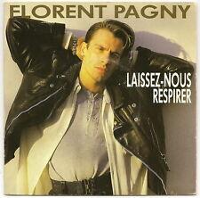 """PAGNY Florent Vinyle 45T 7"""" SP LAISSER-NOUS RESPIRER"""