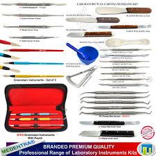 Gamma di strumenti di Modellazione Dentale Cera Cera Intagliatori, coltelli, intonaco SPATOLE