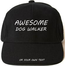 Awesome Chien Walker personnalisée casquette de baseball cadeau de Noël