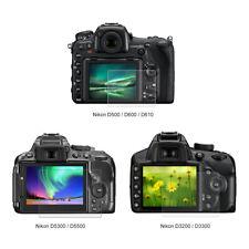 HD Clear Glass LCD Screen Protector Film For Nikon D5200/D5100/D500 Camera 4F08