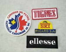 ecusson patch ricard tignes ellesse canadian ski patrol patrouille canadienne