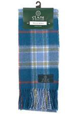 Scottish 100% Wool Tartan Clan Tartan Scarf Musselburgh Brand New
