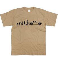Motorholics Da Uomo Evoluzione dell'Uomo a TRIUMPH TR250 T-Shirt S - 5XL